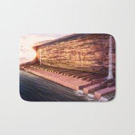 Piano Accord in Sea minor Bath Mat