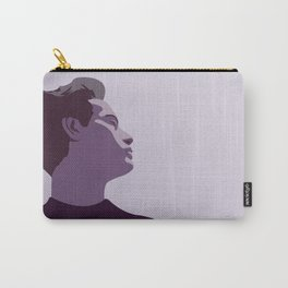 Model Man B (Purple Hue) Carry-All Pouch