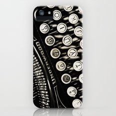 Underwood  typewriter iPhone (5, 5s) Slim Case