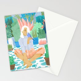 Early Lovebird Stationery Cards