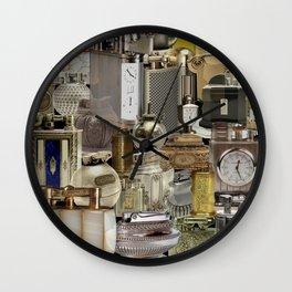 Vintage Cigarette Lighters Wall Clock