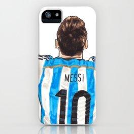 Messi - Argentina iPhone Case