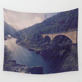To River and Road Wall Tapestry