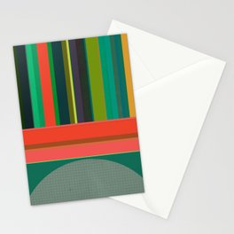 Stripe Transmission Stationery Cards