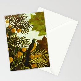 Bird in Tropical Jungle After Rousseau Stationery Cards