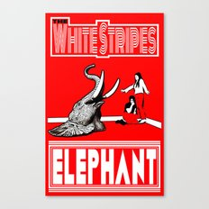 The White Stripes  |  Elephant Canvas Print