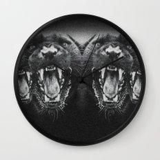 Panther Power Wall Clock