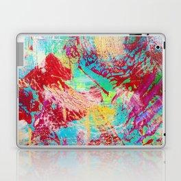 REEF STORM - Fun Bright BOLD Playful Rainbow Colors Underwater Ocean Reef Theme Coral Aquatic Life Laptop & iPad Skin