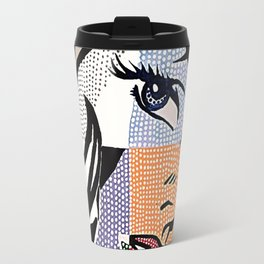 Lichtenstein's Girl Travel Mug