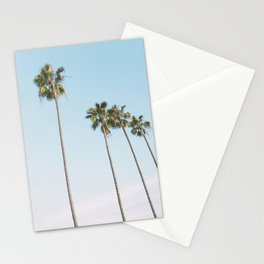 Beach Palms Stationery Cards