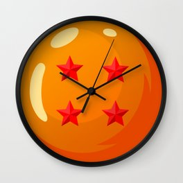 Dragonball - 4 Star Ball Wall Clock