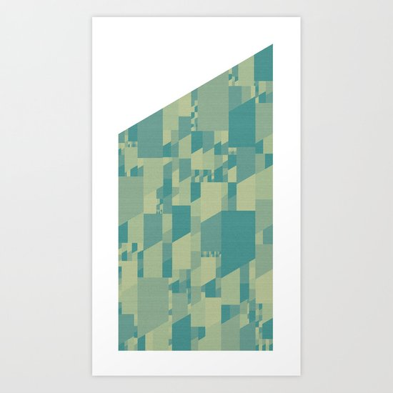 Saltwater Peak Art Print