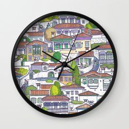 MUGLA OLDTOWN  Wall Clock