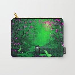 Tardis Stay Lost In The Forest Carry-All Pouch