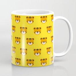 Tilly the Tiger Pattern Coffee Mug