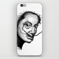dali iPhone & iPod Skins featuring Dali by Robin Ewers