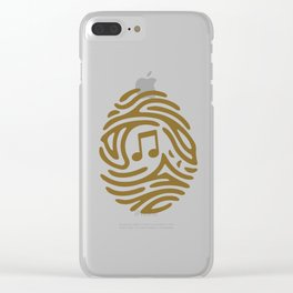 PERSONAL MUSIC Clear iPhone Case