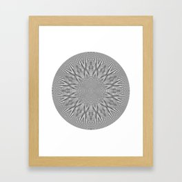 Centric Migraine Framed Art Print