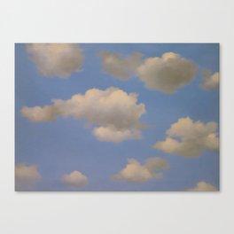 Clouds Surrealism Canvas Print