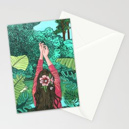 Comic Book Jungle Stationery Cards