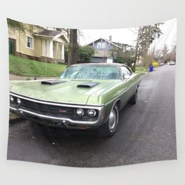 Rare 1971 Brazilian Model Only Polara GT Muscle car Wall Tapestry