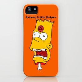Satans Little Helper iPhone Case