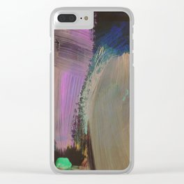 Dark Horse Clear iPhone Case