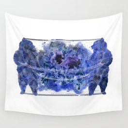 Artemisia and Bears Wall Tapestry