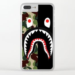 bape cases cover skin iphone new hot style swag 2018 art Clear iPhone Case
