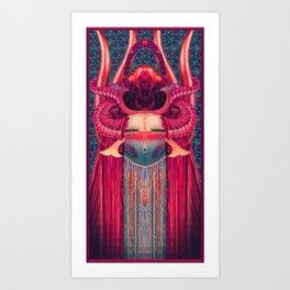 Katsina Mask Art Print