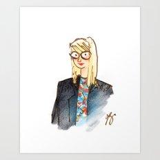 Fashion Illustrated Art Print