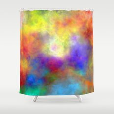 Oh So Colorful Shower Curtain