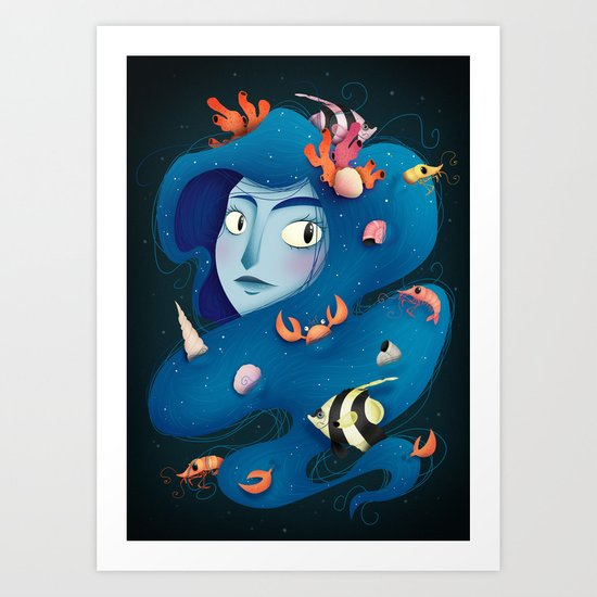 Spirit of the Sea Art Print