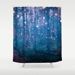 Fairy Lights Shower Curtain