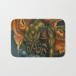 That is Not Dead Which Can Eternal Liw Bath Mat