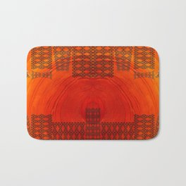 City in a morning Bath Mat