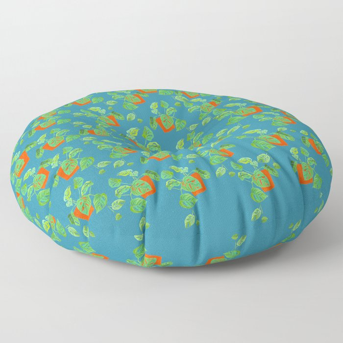Monstera Obliqua Floor Pillow