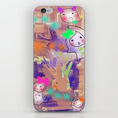 Come on, Come on iPhone & iPod Skin