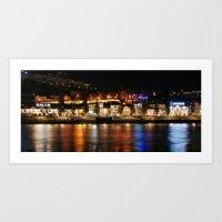 Douro river in Porto, Portugal Art Print