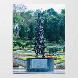 Mae Fa Luang Garden, Doi Tung, Thailand Poster