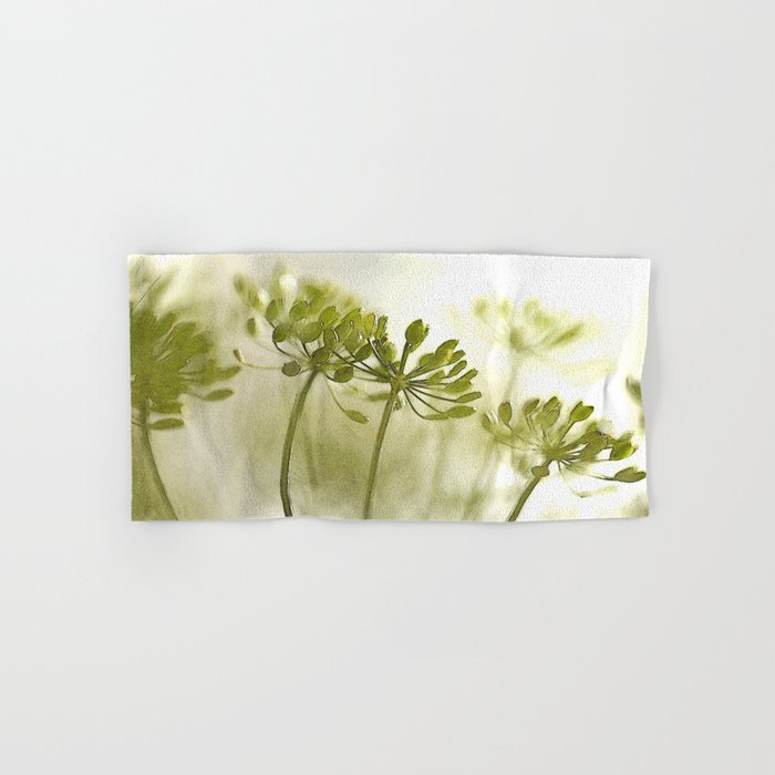 Something green and delicate #decor #society6 Hand & Bath Towel