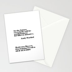 In the future Stationery Cards