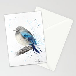 Round and Happy Bird Stationery Cards