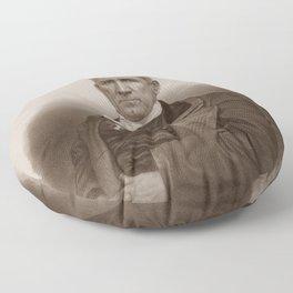 Sam Houston Portrait Floor Pillow