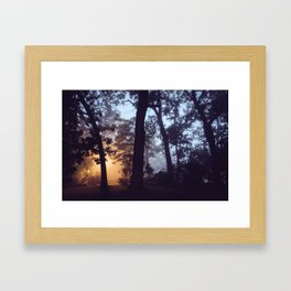 Something Winter This Way Comes Framed Art Print