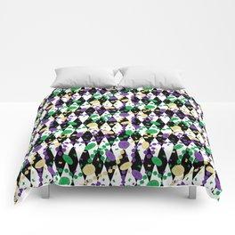 Mardi Gras Throws Comforters