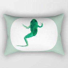 Study of a frog #02 Rectangular Pillow