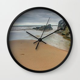 Pobbles Bay Tide Wall Clock