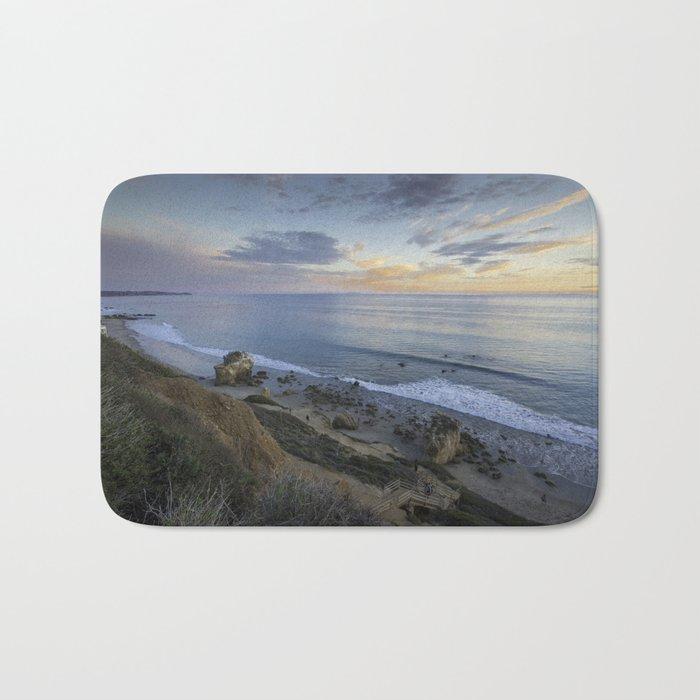 Ocean View from the Beach Bath Mat