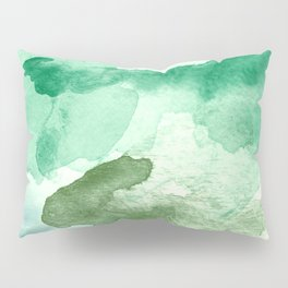 Meadow Pool Abstract Pillow Sham